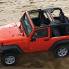 Jeep Wrangler removed roof raleigh